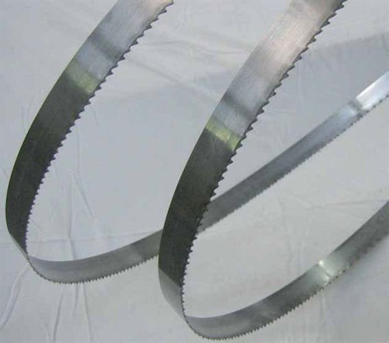 Band blades for wood